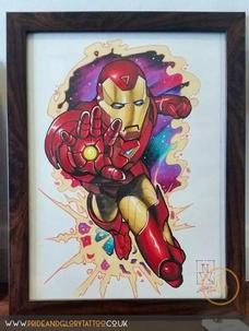Ironman by Nigel White for