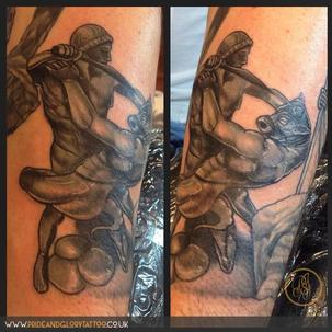 Theseus and the Minotaur by Chessie at Pride & Glory